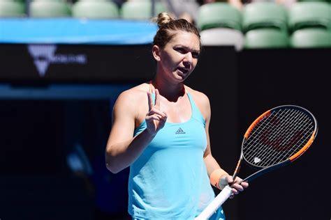 Australian Open 2018: Simona Halep reveals why she was LAUGHING in semi-final match | Tennis | Sport | Express.co.uk