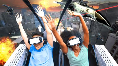 Six Flags Taps Samsung For New Vr Roller Coasters  First One Opens This Month