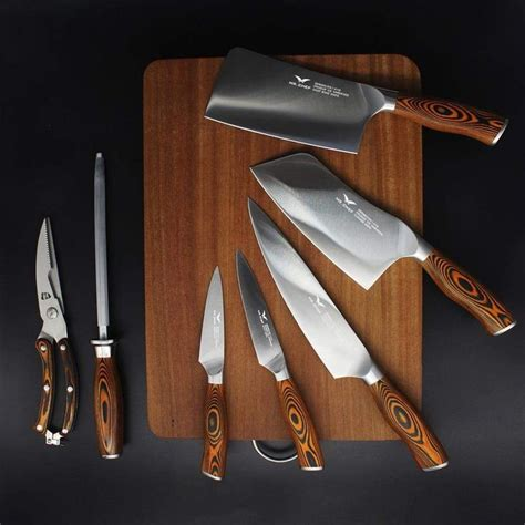 kitchen knives professional knife chef cooking japanese piece