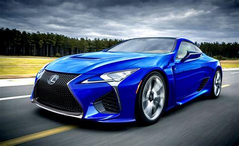 Lexus The New Blue Car 2019 2020 Lexus Lfa Front View