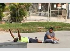 Florida cop shoots unarmed black man lying on ground