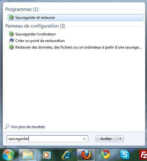 sauvegarde bureau windows 7 configurer la sauvegarde automatique des fichiers sous