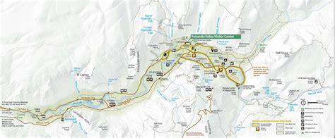 yosemite valley maps