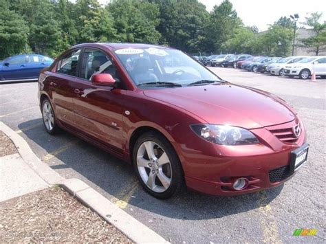 2006 Copper Red Mica Mazda Mazda3 S Grand Touring Sedan