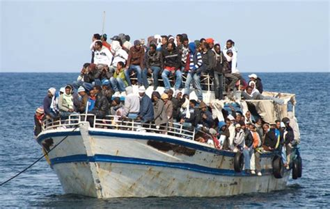 Immigrant Boat by Gozo News
