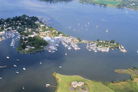 aerial    chesapeake bay area