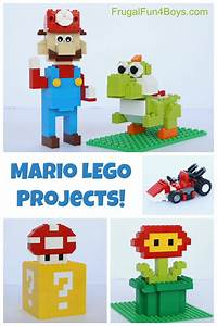 Mario Lego Projects With Building Instructions