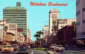 transpress nz Wilshire Boulevard, Los Angeles, 1960