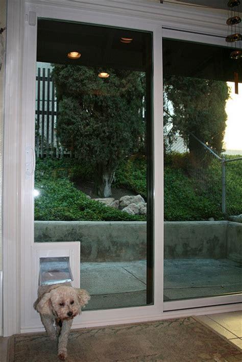 diy doggie doors for sliding glass doors build in installation