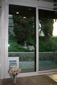 dog door for sliding door comfort your pets in a trendy With best sliding door dog door