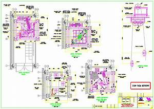 Roof Top Deck Elevator DWG Block for AutoCAD • Designs CAD