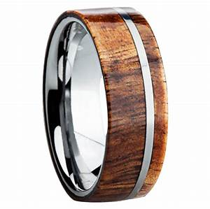 do i really want to wear an alternative metal wedding band With metal and wood wedding rings