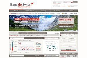 fai trading con banc de swiss uip2013