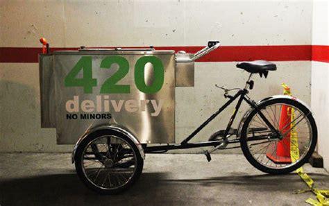 Victoria Police Arrest Man Biking Marijuana Vending Cart
