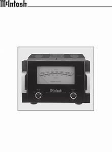 Mcintosh Stereo Amplifier Mc1201 User Guide