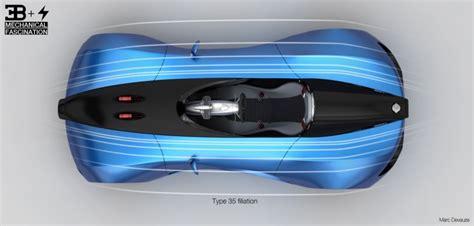 Bugatti Type Zero Concept  Car Body Design