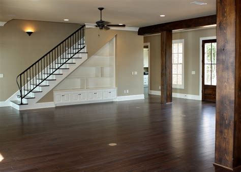 storage  stairs traditional living room jackson
