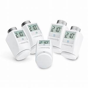 Homematic Ip Kompatibel : wesmartify 5er set heizk rperthermostat wei homematic ip kompatibel heizk rper radiator ~ Eleganceandgraceweddings.com Haus und Dekorationen