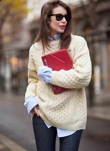 Hemd Pullover Kombination : so kann man einen schicken longpullover tragen 60 outfits ~ Frokenaadalensverden.com Haus und Dekorationen