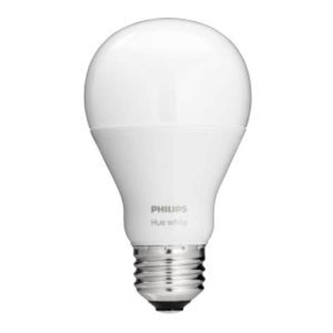 philips 60w equivalent soft white a19 hue connected home
