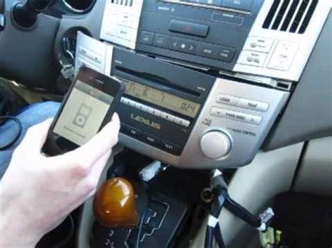 gta car kits lexus rx   install  iphone ipod