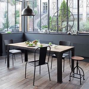 Tabouret Haut Maison Du Monde : l 39 esprit indus 39 dans la cuisine inspiration cuisine ~ Teatrodelosmanantiales.com Idées de Décoration