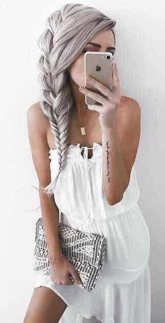 peinados de moda  trenzas  te encantaran
