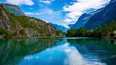 Norway Nature Scenic Natural Landscape Environmental Columbia