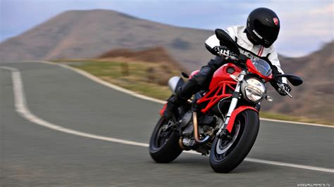 Мотоциклы Ducati Monster 796 обои для рабочего стола 4k