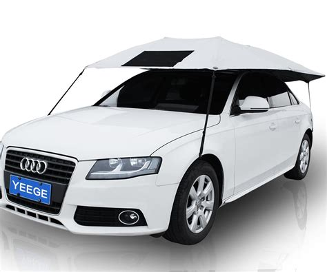 Car Shade by Yeege Universal Fit Car Sun Shade Canopy Cover Vehicle