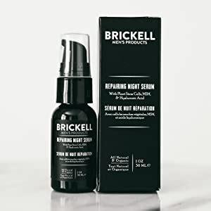 Amazon.com: Brickell Men's Anti Aging Repairing Night Face