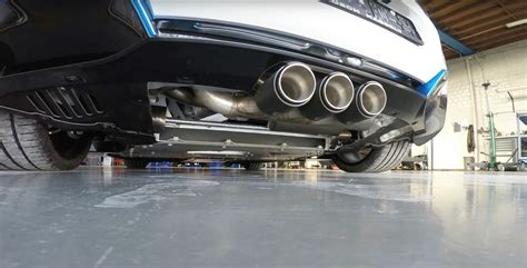 Bmw I8 With Valve Control Exhaust System