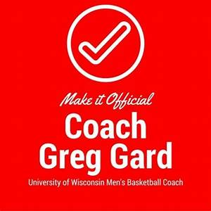 Petition Make it Official for Coach Greg Gard
