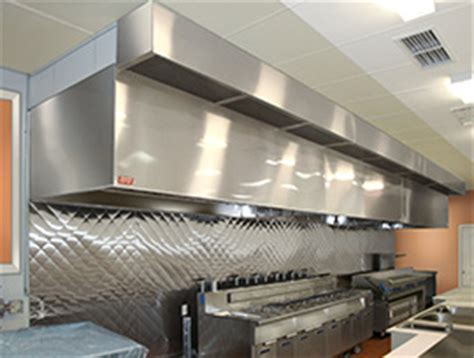 Commercial Kitchen Hood, Ventilation and Exhaust Fans