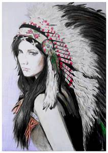 Native American girl by mychemplan on DeviantArt