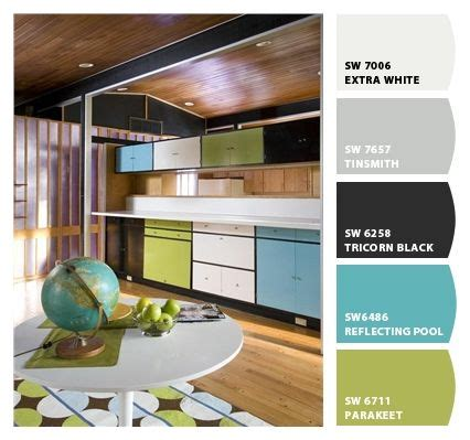 1000 images about color palette mid century on
