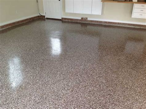 sherwin williams epoxy floor coating granite garage floor in cary nc flake broadcast