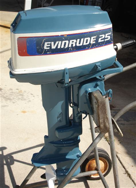 hp evinrude outboard  sale