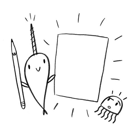 narwhal coloring pages  coloring pages  kids
