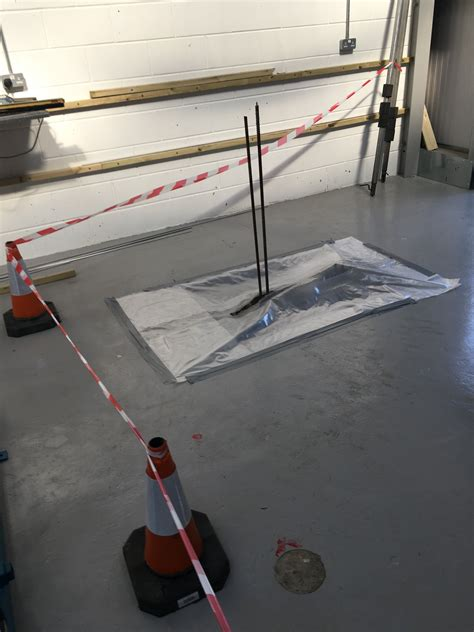 asbestos removal  sealing  area