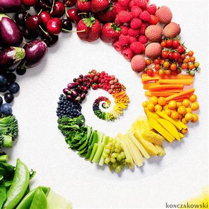 Fruit Vegetables Fruits Rainbow Veggie Vegetable Gifs