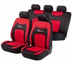Housse Siege C3 : citroen c2 housse si ge auto kit complet noir rouge ~ Melissatoandfro.com Idées de Décoration