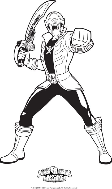 Power Rangers Coloring Pages Gallery Free Coloring Books