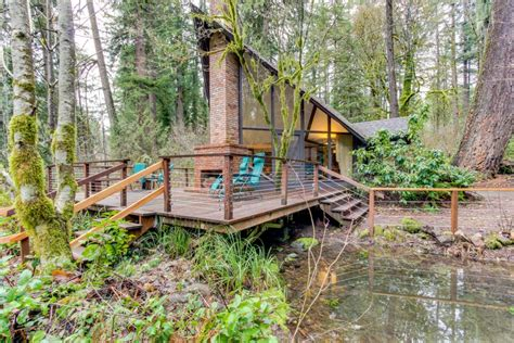 cabin rentals oregon river cabin 5 bd vacation rental in vida or