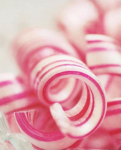 pink peppermint peppermint candy canes twirls by etsy seller