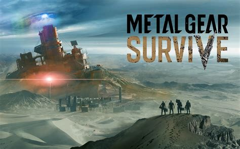 wallpaper metal gear survive konami  games ps