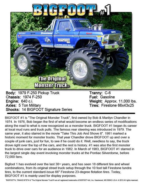 what happened to bigfoot the monster truck 31 best images about trucks mostly ford highboy on