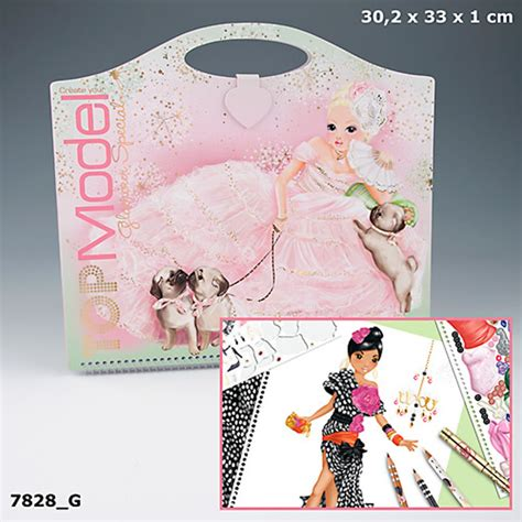 topmodel malbuch create  topmodel glamour spezial