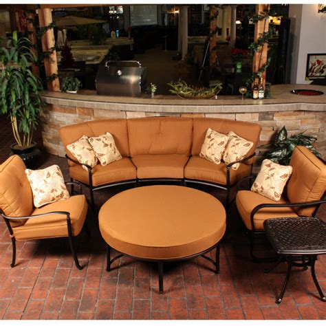 rounded patio furniture agio outdoor patio furniture agio