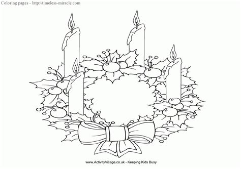 advent wreath coloring pages timeless miraclecom